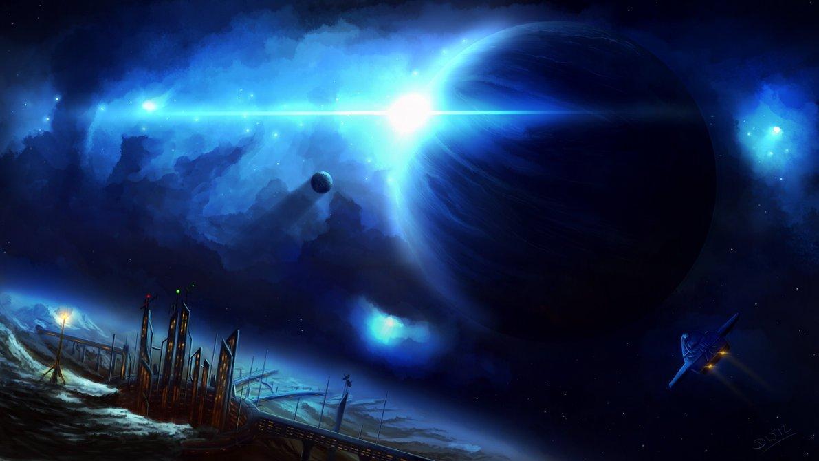 Poesía en Bardulias: Dimensiones azules