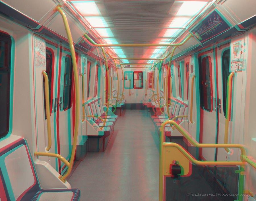Poesía en Bardulias: Madrid. Metro. Seis de la Mañana